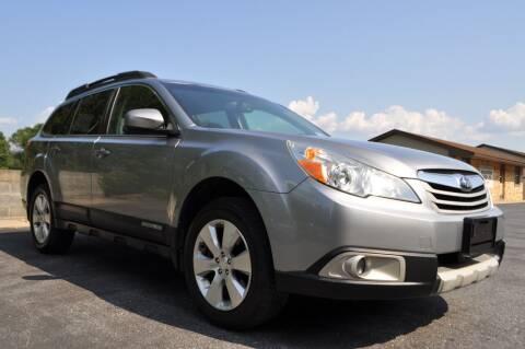 2011 Subaru Outback for sale at CAR TRADE in Slatington PA