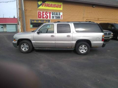 2004 Chevrolet Suburban for sale at American Auto Group LLC in Saginaw MI