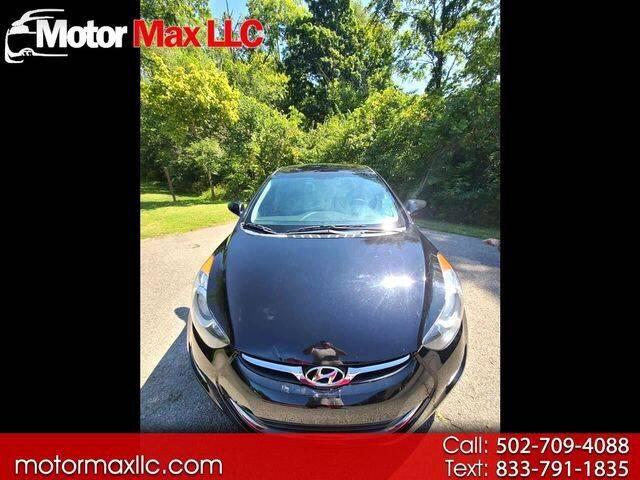 2013 Hyundai Elantra for sale at Motor Max Llc in Louisville KY
