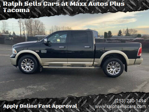 2016 RAM Ram Pickup 1500 for sale at Ralph Sells Cars at Maxx Autos Plus Tacoma in Tacoma WA