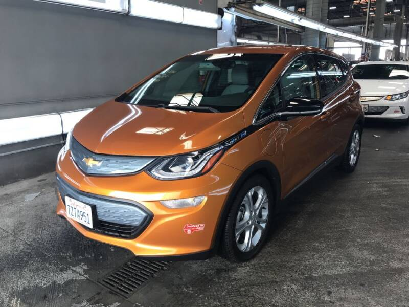 2017 Chevrolet Bolt EV for sale at CENTURY MOTORS in Fresno CA