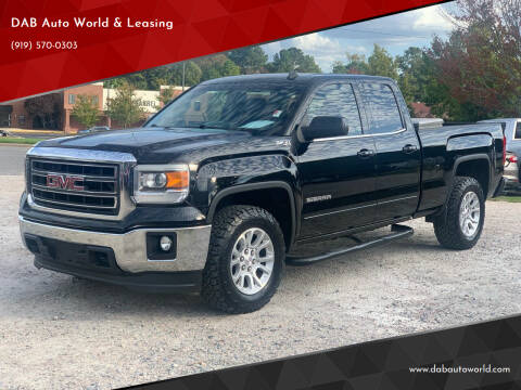 2014 GMC Sierra 1500 for sale at DAB Auto World & Leasing in Wake Forest NC