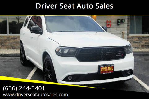 2015 Dodge Durango for sale at Driver Seat Auto Sales in Saint Charles MO