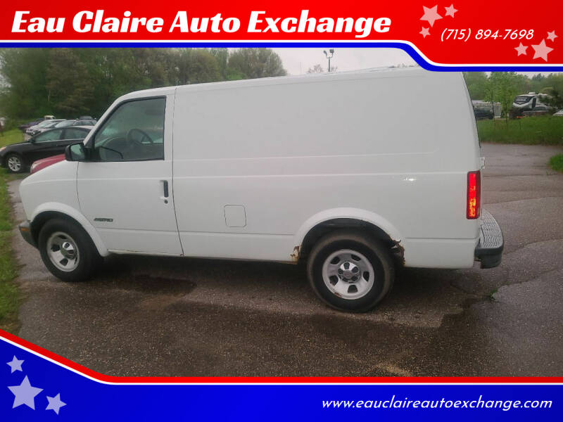 2002 Chevrolet Astro Cargo for sale at Eau Claire Auto Exchange in Elk Mound WI