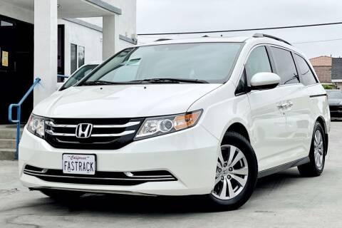 2016 Honda Odyssey for sale at Fastrack Auto Inc in Rosemead CA