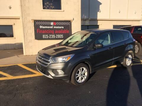 2017 Ford Escape for sale at Diamond Motors in Pecatonica IL