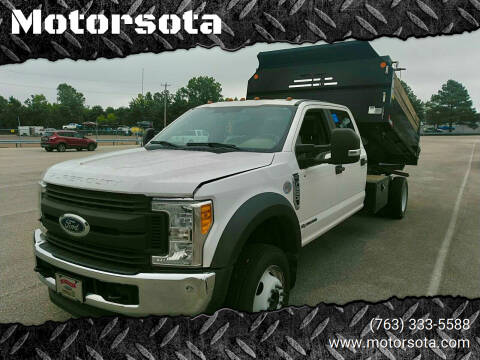 2017 Ford F-550 for sale at Motorsota in Becker MN