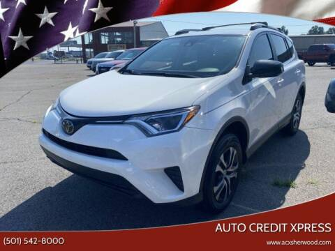 2017 Toyota RAV4 for sale at Auto Credit Xpress - Sherwood in Sherwood AR