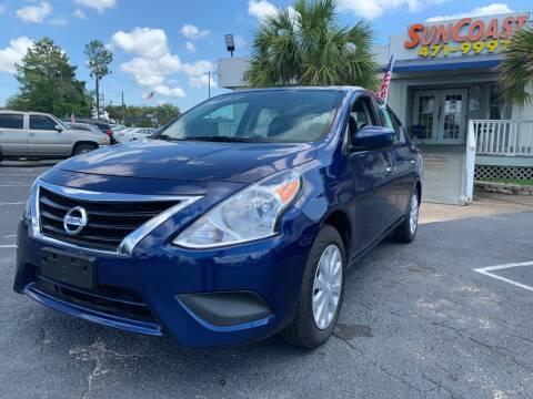 2018 Nissan Versa for sale at Sun Coast City Auto Sales in Mobile AL
