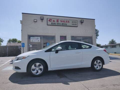2013 Honda Civic for sale at C & S SALES in Belton MO