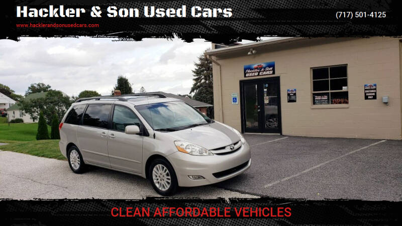 2008 Toyota Sienna for sale at Hackler & Son Used Cars in Red Lion PA