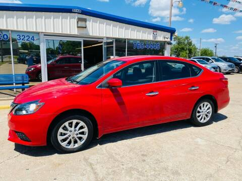 2018 Nissan Sentra for sale at Pioneer Auto in Ponca City OK
