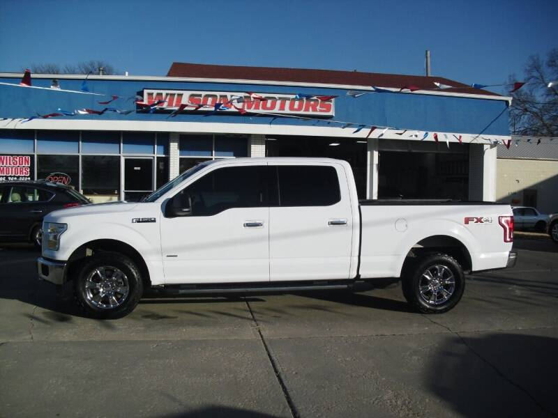 2015 Ford F-150 for sale at Wilson Motors in Junction City KS