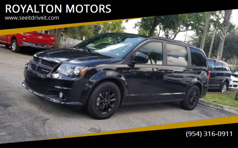 2019 Dodge Grand Caravan for sale at ROYALTON MOTORS in Plantation FL