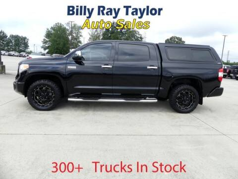 2015 Toyota Tundra for sale at Billy Ray Taylor Auto Sales in Cullman AL