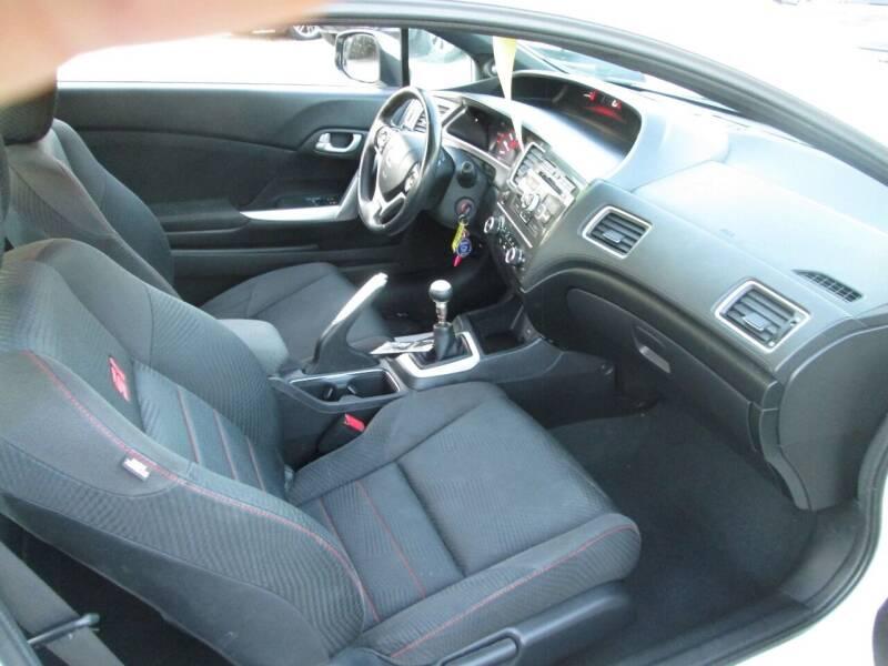 2013 Honda Civic Si 2dr Coupe - Lowell MA