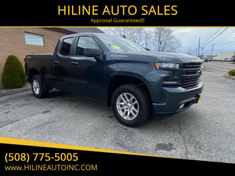 2019 Chevrolet Silverado 1500 for sale at HILINE AUTO SALES in Hyannis MA