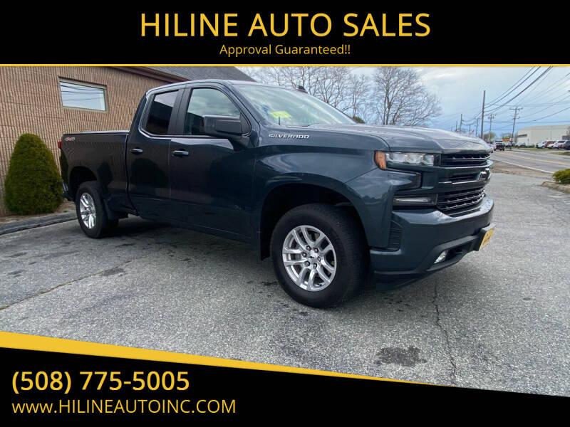 2019 Chevrolet Silverado 1500 for sale at HILINE AUTO SALES in Hyannis MA
