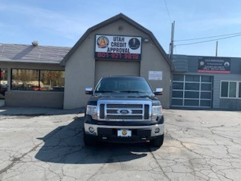 2012 Ford F-150 for sale at Utah Credit Approval Auto Sales in Murray UT