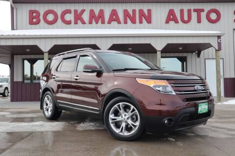 2012 Ford Explorer for sale at Bockmann Auto Sales in St. Paul NE