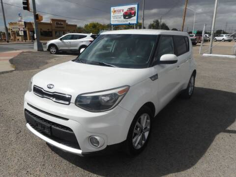 2017 Kia Soul for sale at AUGE'S SALES AND SERVICE in Belen NM
