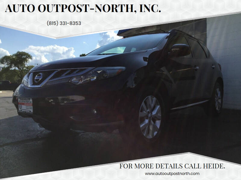 2012 Nissan Murano for sale at Auto Outpost-North, Inc. in McHenry IL