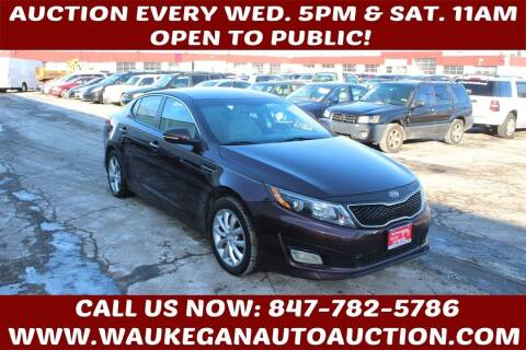 2014 Kia Optima for sale at Waukegan Auto Auction in Waukegan IL