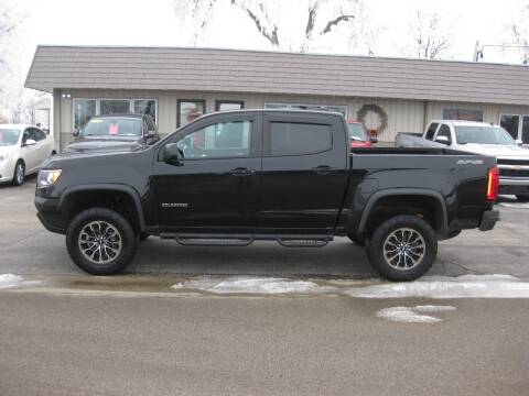 2018 Chevrolet Colorado for sale at Greens Motor Company in Forreston IL