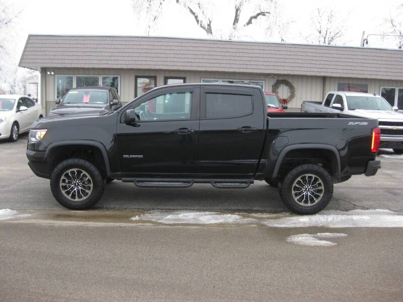 2018 Chevrolet Colorado for sale at Greens Motor Company in Forreston IL