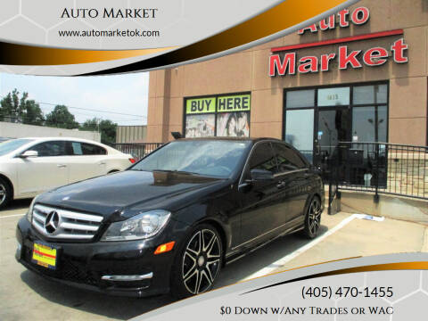 2013 Mercedes-Benz C-Class for sale at Auto Market in Oklahoma City OK