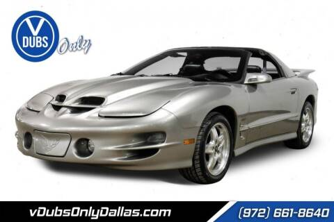 2002 Pontiac Firebird for sale at VDUBS ONLY in Dallas TX