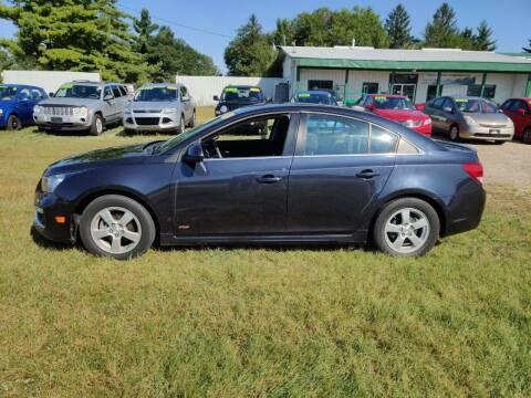 2015 Chevrolet Cruze for sale at SCENIC SALES LLC in Arena WI