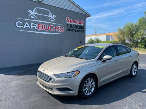 2017 Ford Fusion for sale at Carbucks in Hamilton OH