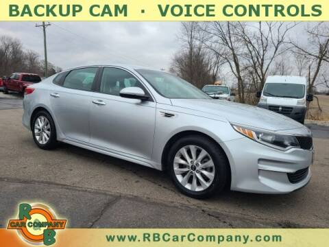 2017 Kia Optima for sale at R & B CAR CO - R&B CAR COMPANY in Columbia City IN