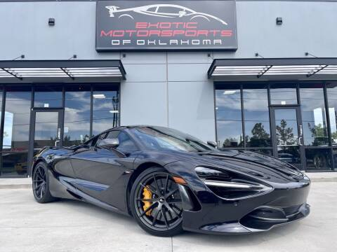 2019 McLaren 720S for sale at Exotic Motorsports of Oklahoma in Edmond OK