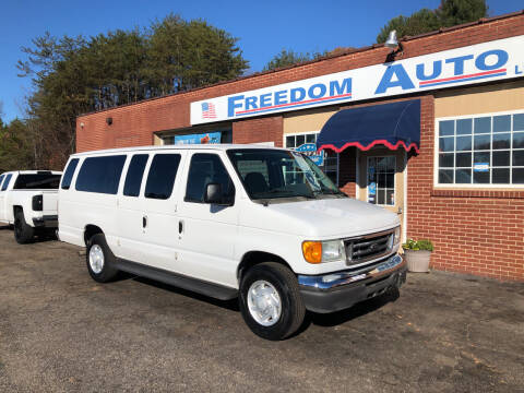 2007 Ford E-Series Wagon for sale at FREEDOM AUTO LLC in Wilkesboro NC