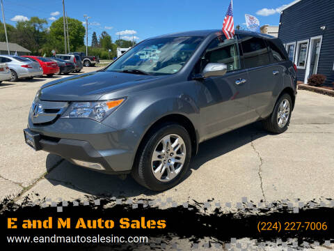 2008 Acura MDX for sale at E and M Auto Sales in East Dundee IL