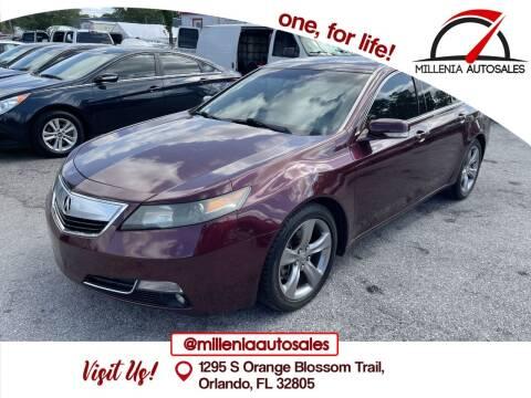 2012 Acura TL for sale at Millenia Auto Sales in Orlando FL