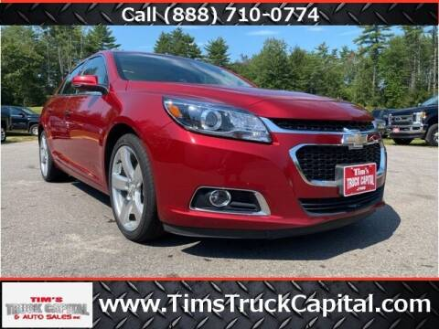 2014 Chevrolet Malibu for sale at TTC AUTO OUTLET/TIM'S TRUCK CAPITAL & AUTO SALES INC ANNEX in Epsom NH