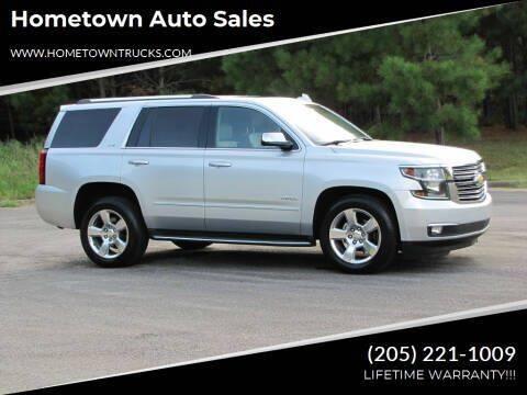 2016 Chevrolet Tahoe for sale at Hometown Auto Sales - SUVS in Jasper AL