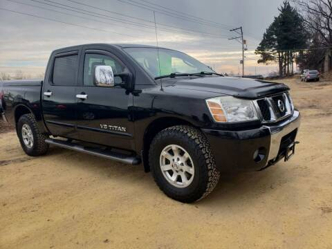 2006 Nissan Titan for sale at Northwoods Auto & Truck Sales in Machesney Park IL
