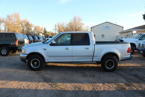 2002 Ford F-150 for sale at Northern Colorado auto sales Inc in Fort Collins CO