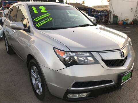 2012 Acura MDX for sale at CAR GENERATION CENTER, INC. in Los Angeles CA