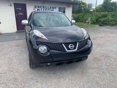 2012 Nissan JUKE for sale at Excellent Autos of Orlando in Orlando FL