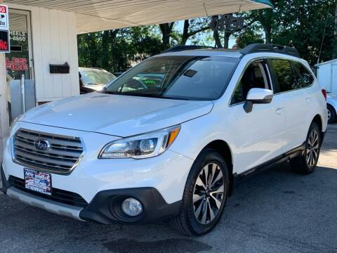 2015 Subaru Outback for sale at New Wheels in Glendale Heights IL