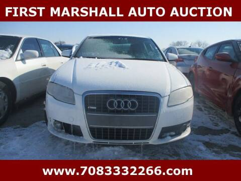 2008 Audi A4 for sale at First Marshall Auto Auction in Harvey IL