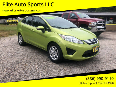 2013 Ford Fiesta for sale at Elite Auto Sports LLC in Wilkesboro NC