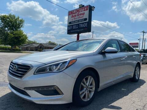 2015 Hyundai Sonata for sale at Unlimited Auto Group in West Chester OH