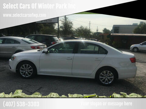 2013 Volkswagen Jetta for sale at Select Cars Of Winter Park Inc in Orlando FL