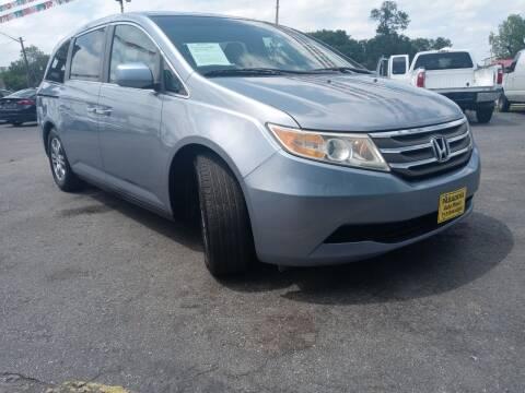 2012 Honda Odyssey for sale at Pasadena Auto Planet in Houston TX